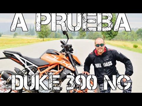 DUKE 390 NG A PRUEBA | TRILOGIA #FULLGASS