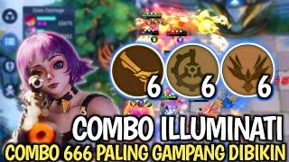 COMBO 666 PALING GAMPANG DIBIKIN - MAGIC CHESS MOBILE LEGENDS
