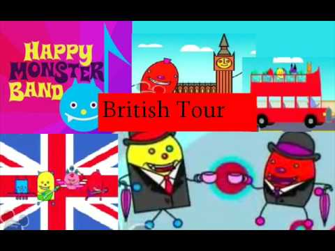 Happy Monster Band - British Tour (London Town)