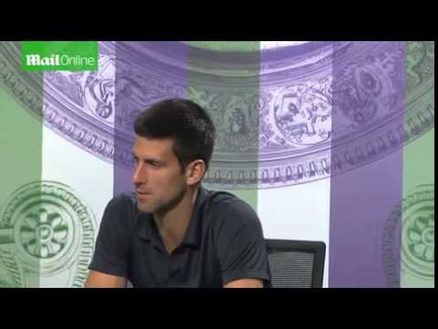 Novak Djokovic on coach Boris Becker...