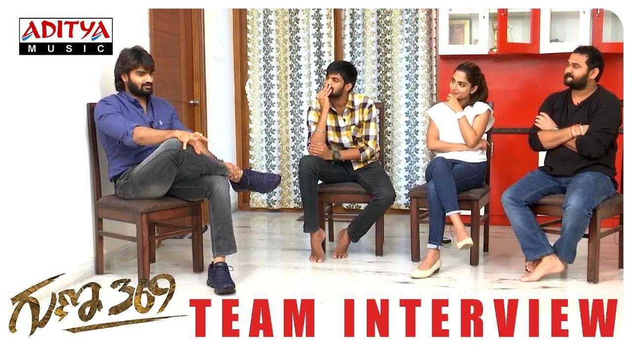 Guna369 Team Interview  || Karthikeya, Anagha || Arjun Jandyala || Chaitan Bharadwaj