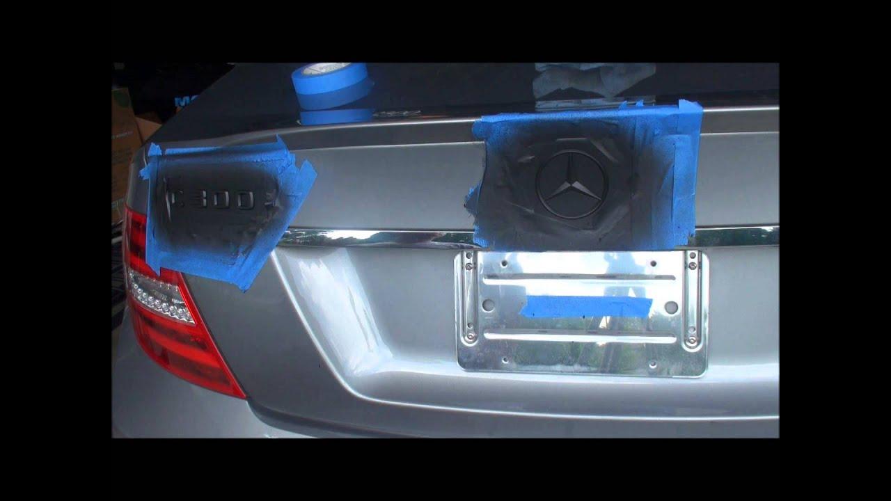 Best Plasti Dip For Car Emblems
