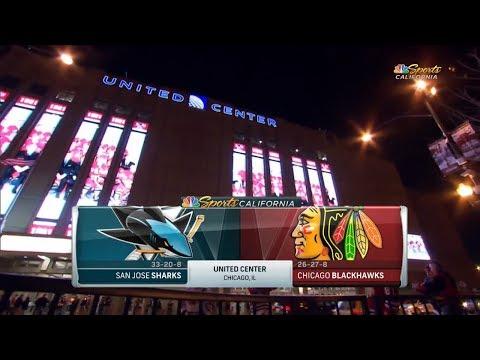 San Jose Sharks vs. Chicago Blackhawks (23.02.2018) Highlights