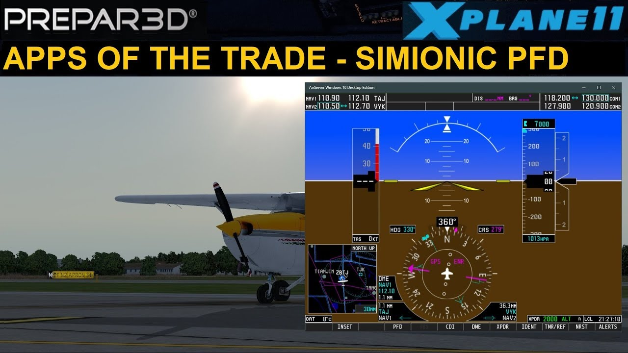 APPS OF THE TRADE - SIMIONIC G1000 PFD/MFD (ENGLISH)