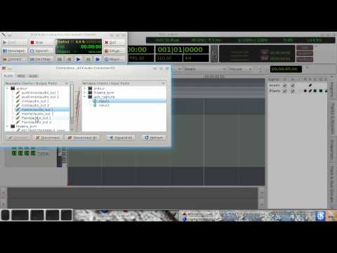 Ardour 3 With LinuxSampler As An LV2 Plugin