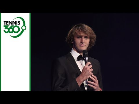 Alexander Zverev gives brilliant introduction to Roger Federer at Laver Cup gala