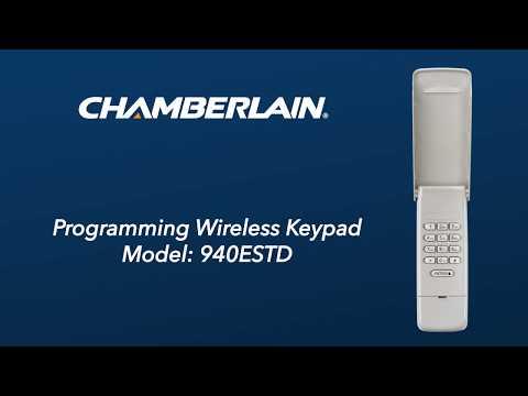 how-to-program-chamberlain's-940estd-wireless-keypad-to-a-garage-door-opener