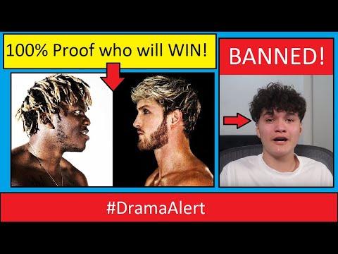 KSI vs LOGAN PAUL (100% PROOF Who will WIN! ) #DramaAlert FaZe Jarvis - FORTNITE BANNED!