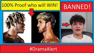 KSI vs LOGAN PAUL (100% PROOF Who will WIN! ) #DramaAlert FaZe Jarvis - FORTNITE BANNED!
