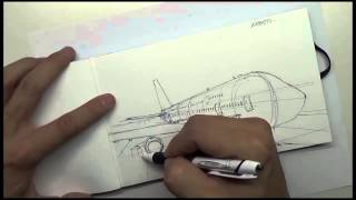 idraw series EP4: how to draw an airport w/ James Paick