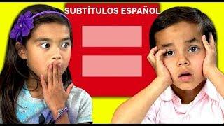 Kids React to Gay Marriage - Niños reaccionan ante el Matrimonio Igualitario (Español)