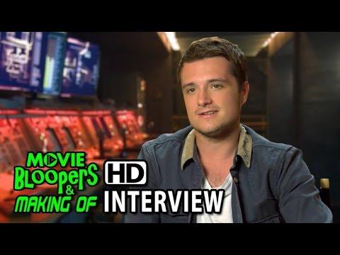 The Hunger Games: Mockingjay - Part 1 (2014) Interview - Josh Hutcherson (Peeta Mellark)