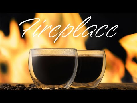 Smooth JAZZ & Cozy Fireplace - Relaxing Piano JAZZ & Bossa Nova - Chill Out Music