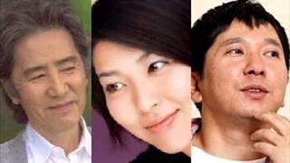 TBS日曜劇場『おやじの背中』の第一話。 田村正和さんと松たか子さん...