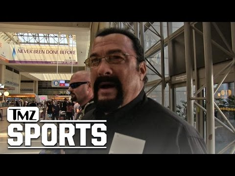 Steven Seagal -- Russian Fight Video Was Real ... I'm a Martial Arts Beast!!! | TMZ Sports