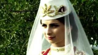 Я выдаю сестрёнку замуж. Свадьба Тимура и Аланы 2015г. В память о Амире.