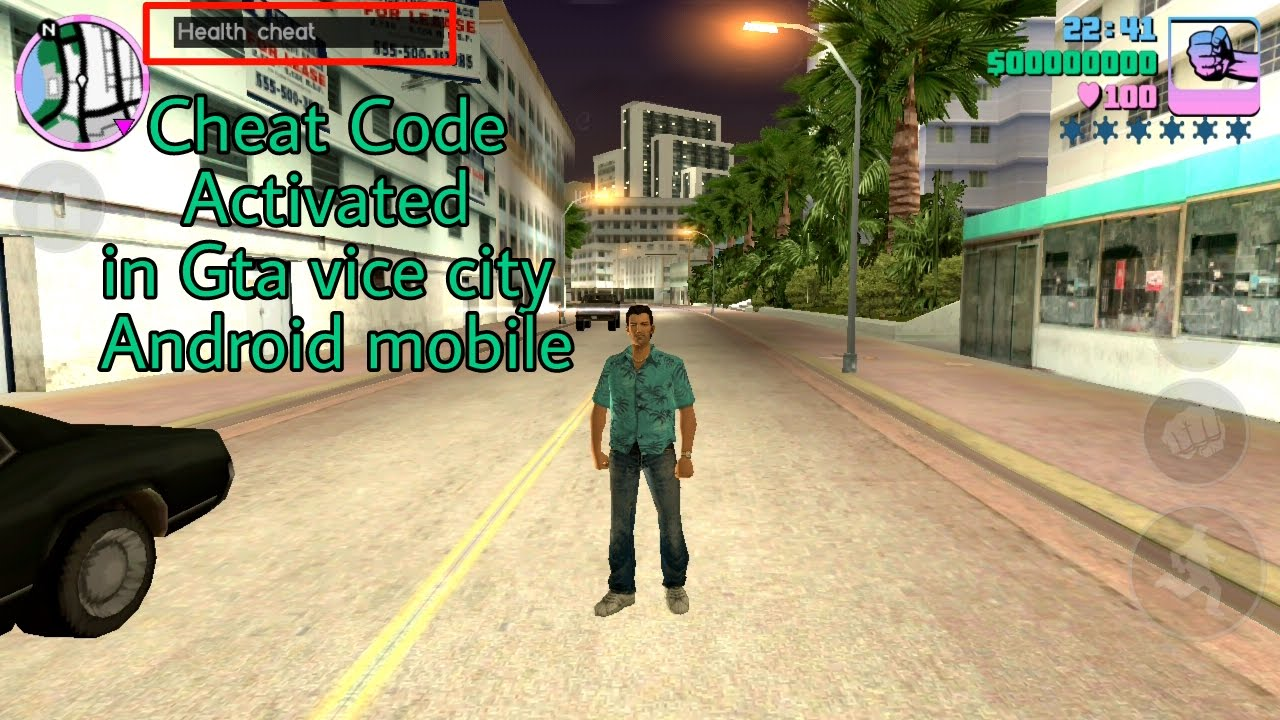 How To Use Cheat Code In Gta Vice City In Android Mobile  Free And Working