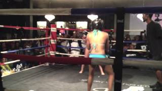 BIKINI BOXING IN THE HOOD(PT.3) 1st Fight