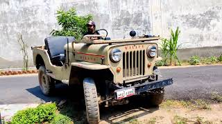 Driving my 1966 Willys CJ-3B after 8 Years!  JEEP | Real Auto Reviews