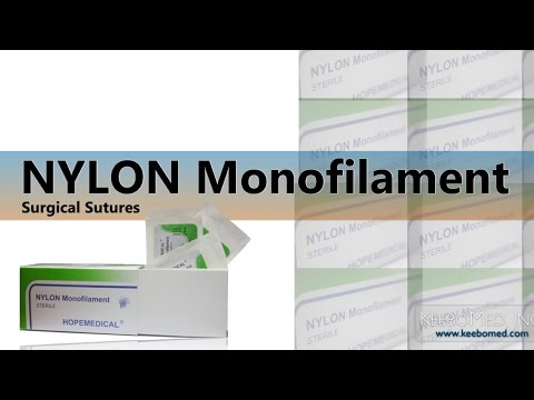 Nylon Monofilament Surgical Sutures