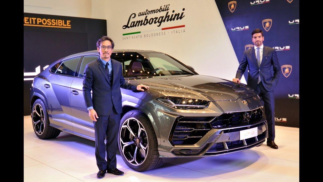 Lamborghini Urus Debuts In Malaysia Youtube