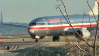DCA Departures & Landings from 1725 - 1829 on Sunday 3/11/12