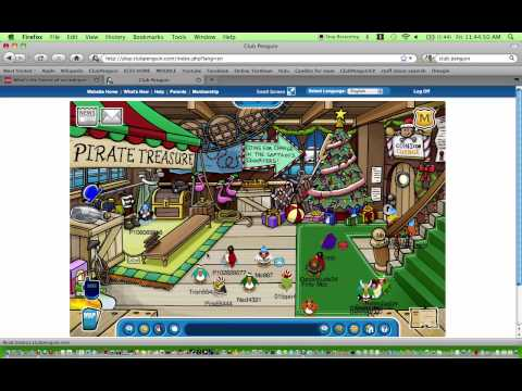 Club Penguin Coins For Change 2009