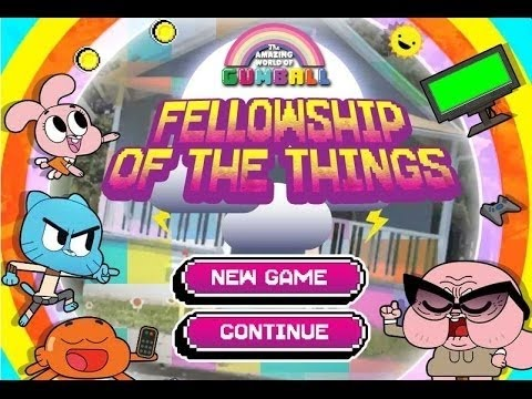 The Amazing World Of Gumball - Fellowship of The Things full new 2016
