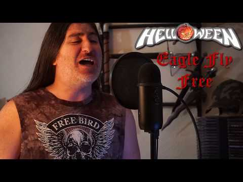 "Helloween "" Eagle fly Free "" ( vocal cover )"