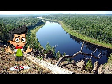 Где находится река Енисей на карте России.  Протяженность и исток реки Енисей