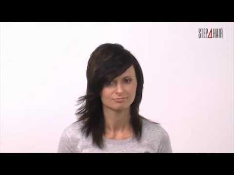 step4hairm: strzyżenie damskie włosów długich w separacji diamentu oraz koloryzację.