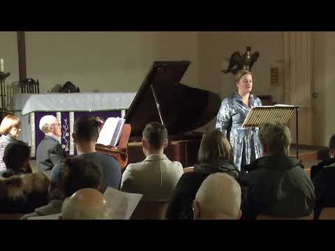 Catharine Woodward and Richard Black perform Messiaen's Harawi