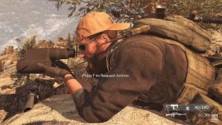Long Range Sniper in the Mountains - Medal of Honor