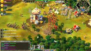 Age of Empires Online - PvP - 2v2 - Persia + Celts vs Greek + Persia