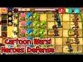 Cartoon Wars : Plants Contra Zombies Heroes Defence video