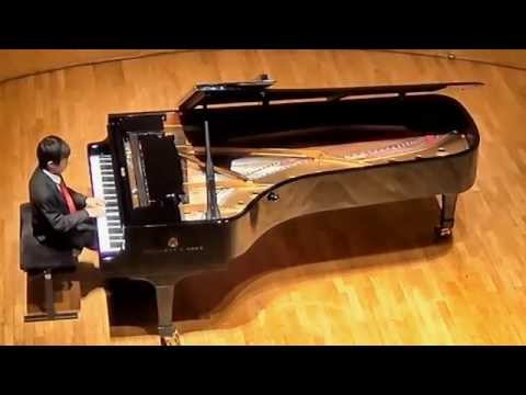 Nile Camai performs Beethoven Sonata Op. 14 No.2 at Salle Cortot, Paris