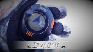 Bushnell 'BackTrack' GPS   Review