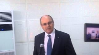 Brahim Debbech  au lancement de la Skouda en Tunisie