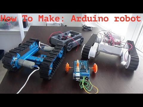 How to make an easy and cheap arduino robot!