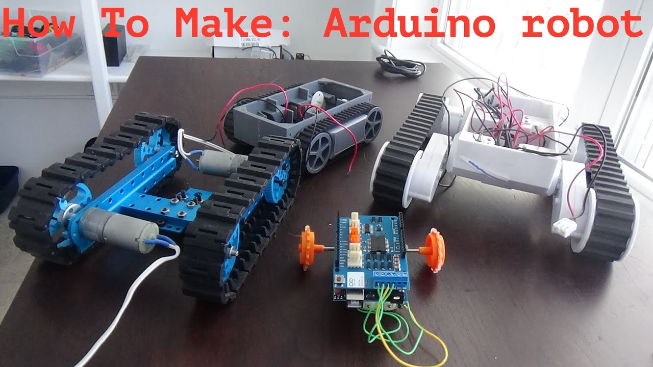 How to make an easy and cheap arduino robot! - YouTube