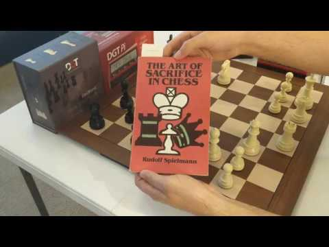 DGT Pi/Smart board setup - The Art of Sacrifice in Chess (featured book)