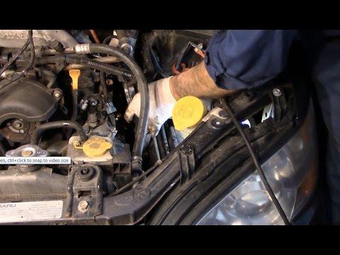 Diagnose and repair a blinking check engine light Subaru Outback