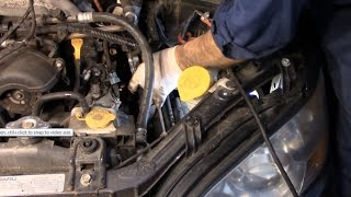 diagnose and repair a blinking check engine light subaru outback