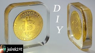 DIY. Bitcoin in Resin/Bitcoin w żywicy
