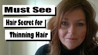 How To Hide Thinning Hairline | Real Human Hairpieces For Women