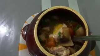 Готовка №1 - Курица с овощами в горшочках