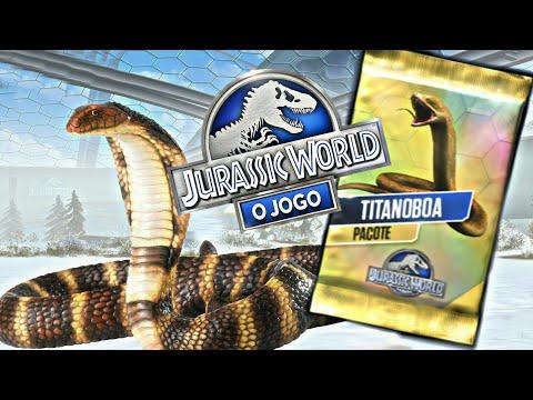 """Torneio da Titanoboa #1 [Tournament] Ligas """"Impossiveis"""" - Jurassic World o Jogo [The Game]"""