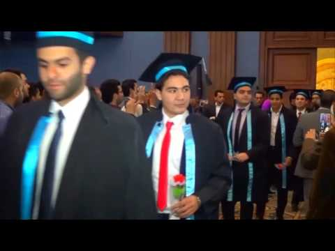 Graduation Ceremony Class 2015,Alex Faculty of medicine PART I