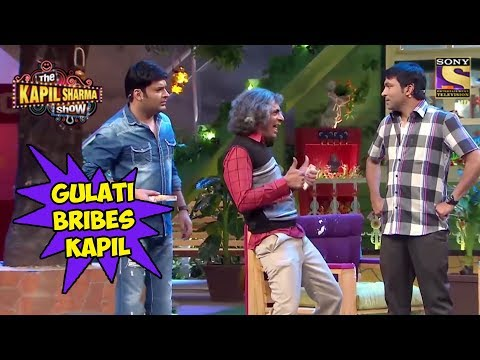 Gulati Bribes Kapil To Mock Chandu - The Kapil Sharma Show
