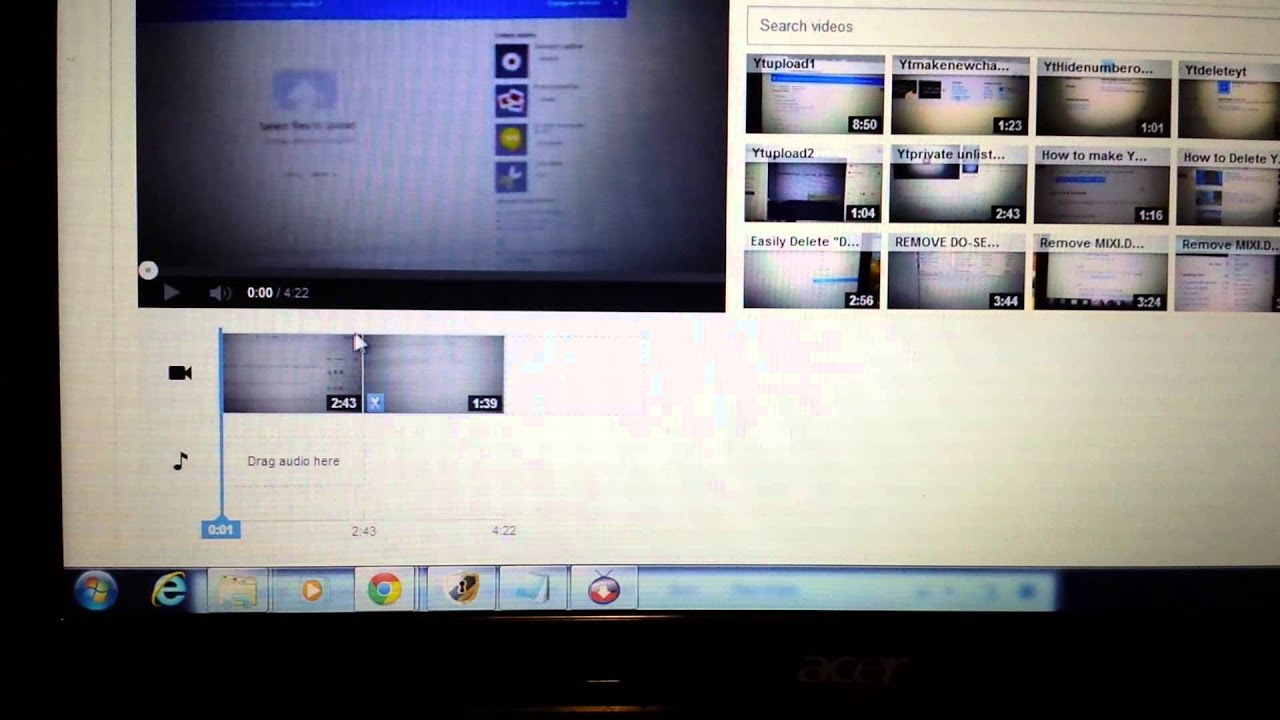 2014: Youtube Editor How To Splice Videos Together: Makepilation Video